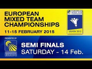 Halve finale Duitsland - Denemarken #EMTC15