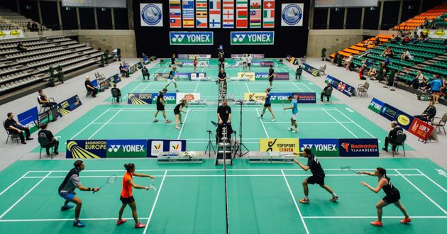 Draws Yonex Belgian International gepubliceerd