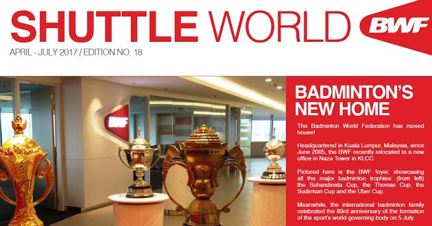 BWF magazine: 18de editie Shuttle World