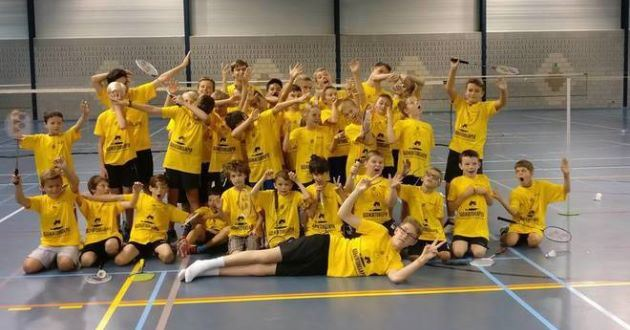 Badmintonkamp Aalst start 12 augustus