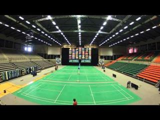 Time laps opbouw Yonex Belgian International